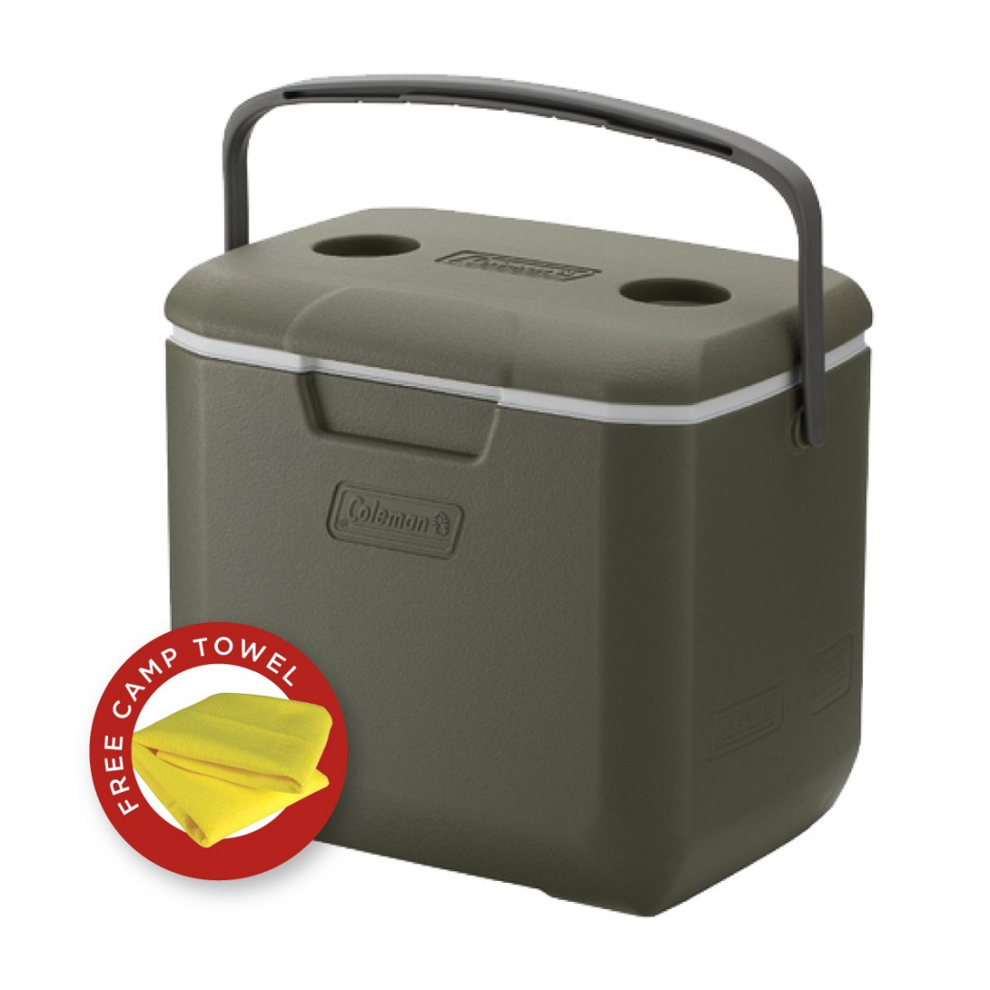 COLEMAN COOLER 30QT OLIVE LEAF JAPAN (LIMITED EDITION)