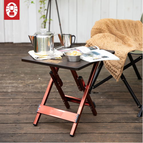 COLEMAN MASTER BUTTERFLY SIDE TABLE