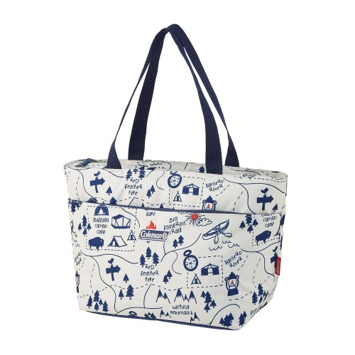 COLEMAN SOFT COOLER DAILY TOTE CAMP MAP 15L ASIA