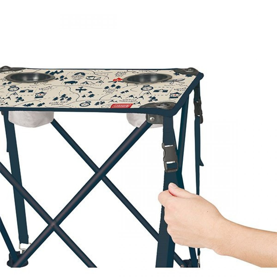 COLEMAN CHAIR TABLE COMPACT CAMP MAP JAPAN (EX)