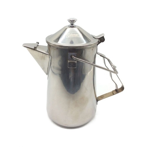 COLEMAN FIREPLACE KETTLE STAINLESS ASIA