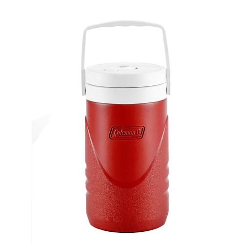 Coleman 1/2 Gallon/ 1.9L Cooler Jug - Red