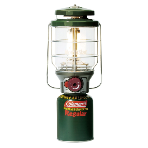 COLEMAN 2500 NORTHSTAR LANTERN GAS BTN 1 MANTLE W/CASE JPN