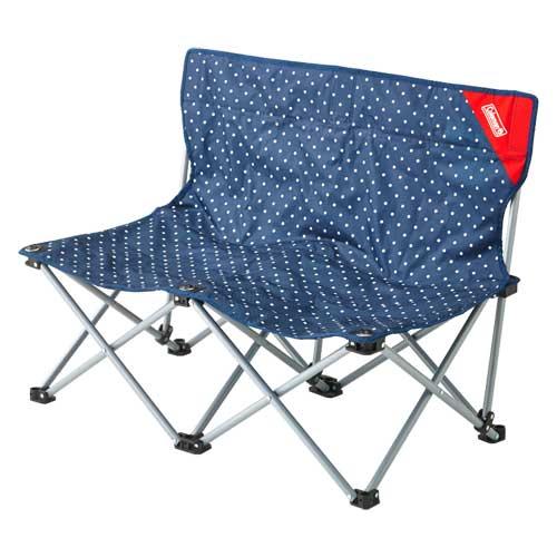 Coleman Fun Chair Double (Blue Dot)