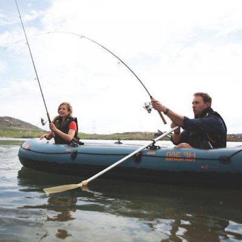 COLEMAN BOAT FISH HUNTER 6P WITH BERKLEY
