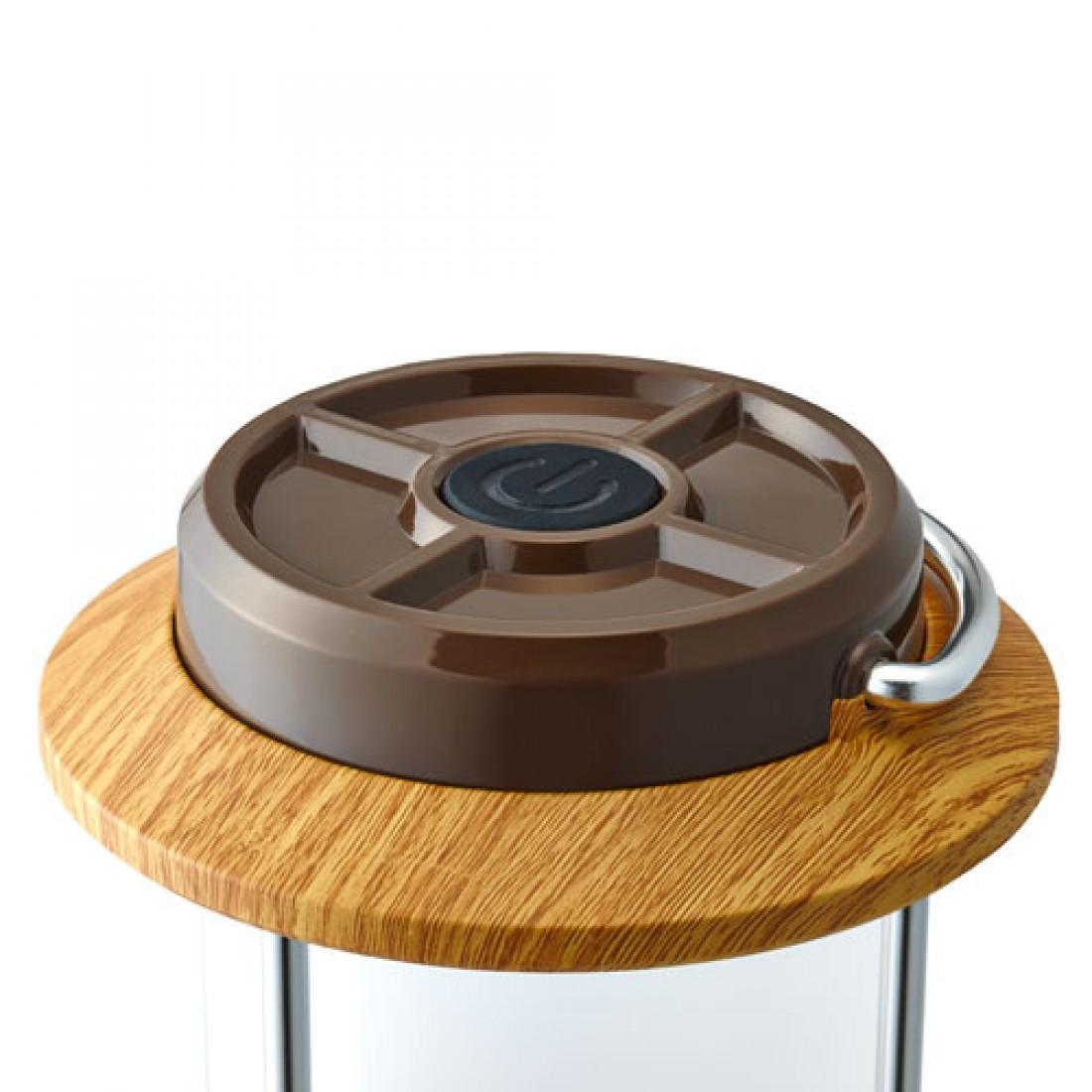 Coleman Batterylock™ LED Pack-Away® Lantern (Natural Wood)