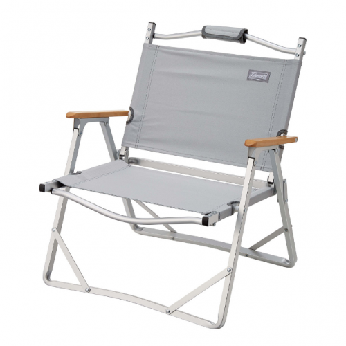 COLEMAN COMPACT FOLDING CHAIR (GRAY) (EX)