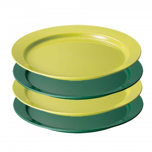 COLEMAN EASY CLEAN PLATE 4PCS APAC