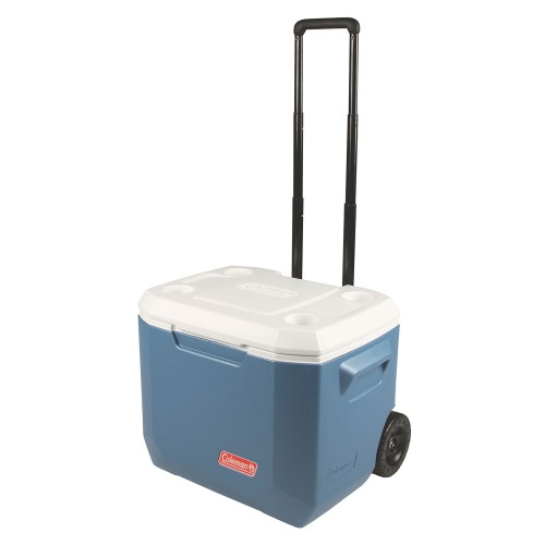 Coleman 50QT Wheeled XTREME®  Cooler - Blue/White