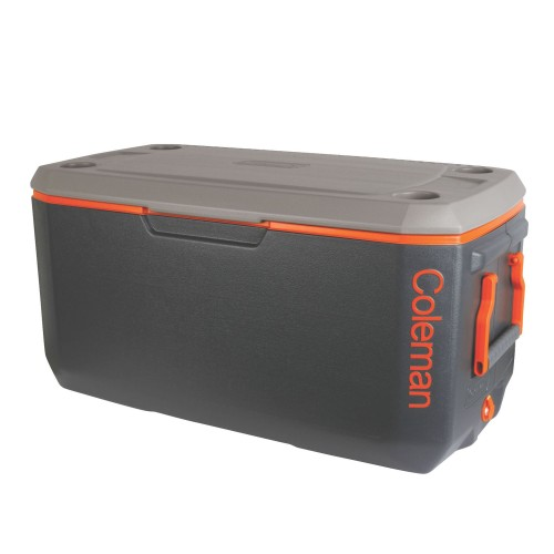 Coleman 120QT XTREME® Cooler - Grey / Orange