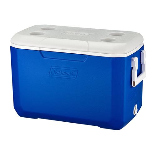 COLEMAN  48QT COOLER BOX BLUE ASIA