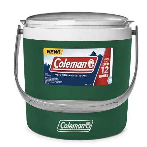 Coleman Performance Cooler Box - 9QT Party Circle Cooler Box (Green)