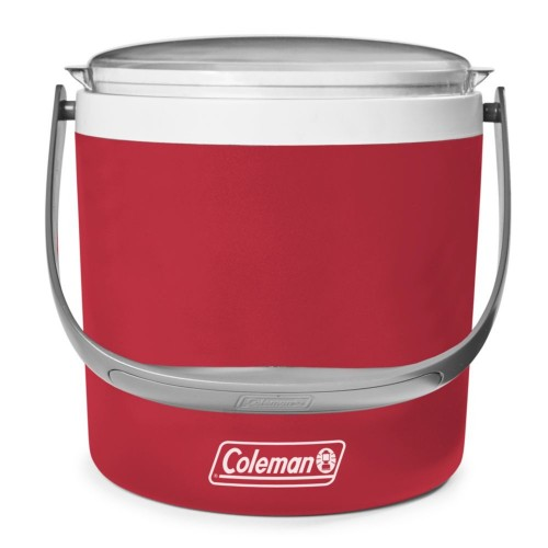 Coleman Performance Cooler Box - 9QT Party Circle Cooler Box (Red)