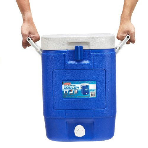Coleman 5 Gallon/19 Litre Square Beverage Cooler - Blue