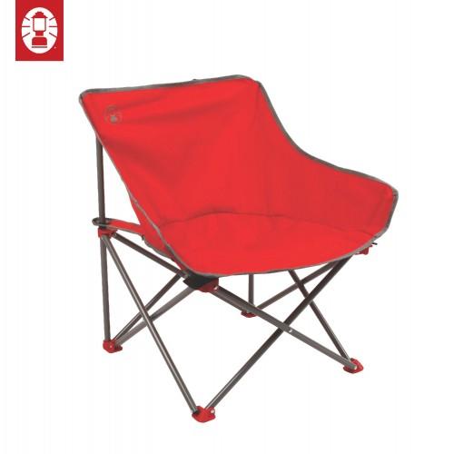 Coleman Kickback Chair (Red)