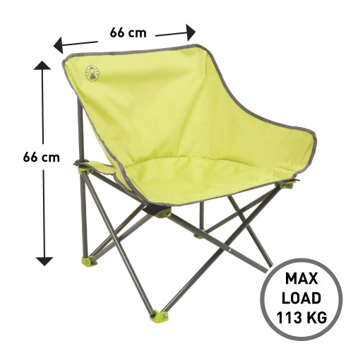 Coleman Kickback Chair (Lime)