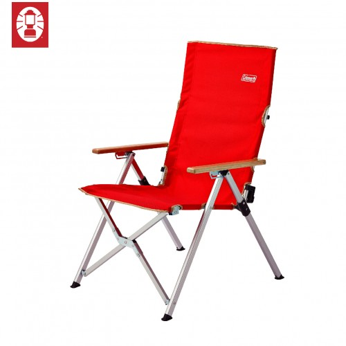 Coleman Lay Chair - Red