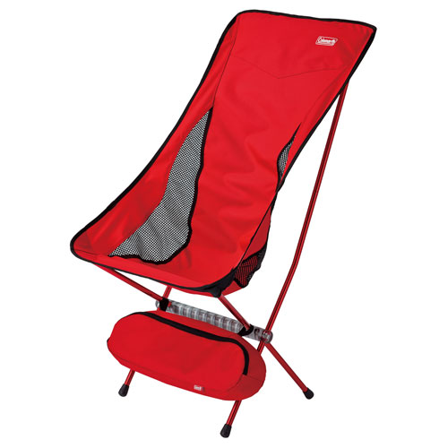 COLEMAN LEAF CHAIR HIGH BACK (RED)