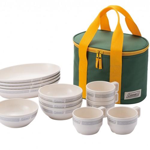 Coleman Lattce Dishware Set (White)