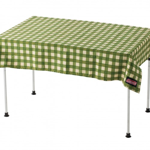 Coleman Table Cloth - Green Check