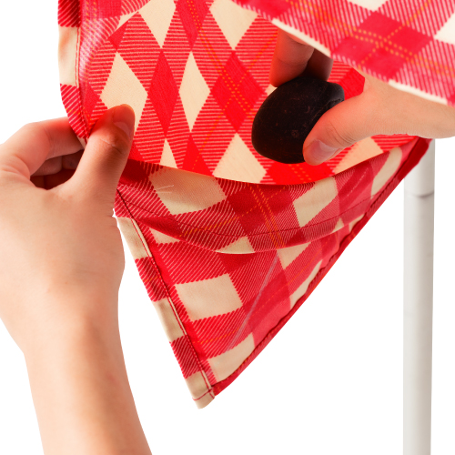 Coleman Table Cloth - Red Check