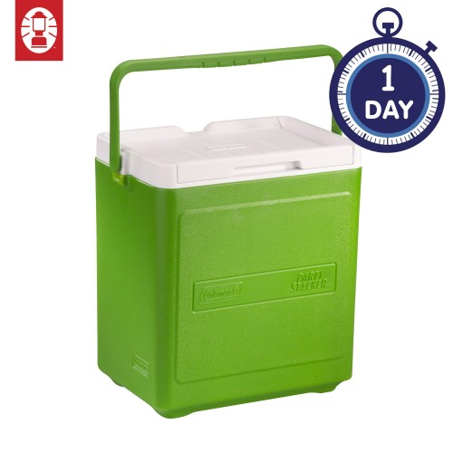Coleman 20 Cans Party Stacker™ Cooler Box (Green)
