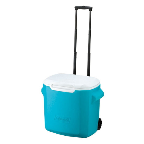 Coleman 28QT Wheeled Cooler - Sky Blue