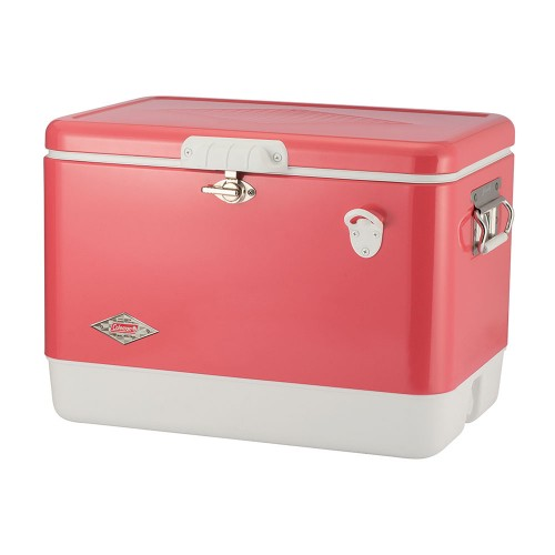 Coleman 54QT Steel Belted Limited Edition Retro 60th Anniversary Series Cooler Box