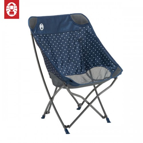 Coleman Healing Chair - Navy Dot
