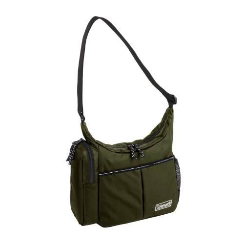 Coleman Cool Shoulder Small Olive Leaf Backpack