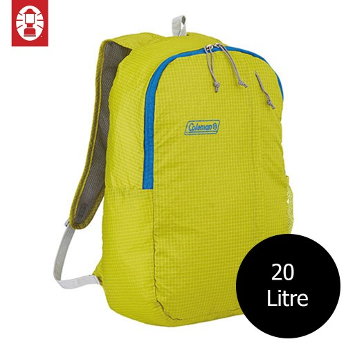 COLEMAN PACKABLE DAY PACK BACKPACK - GREEN