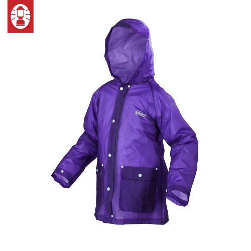 Coleman Youth Eva Rain Jacket (L/XL) - Purple