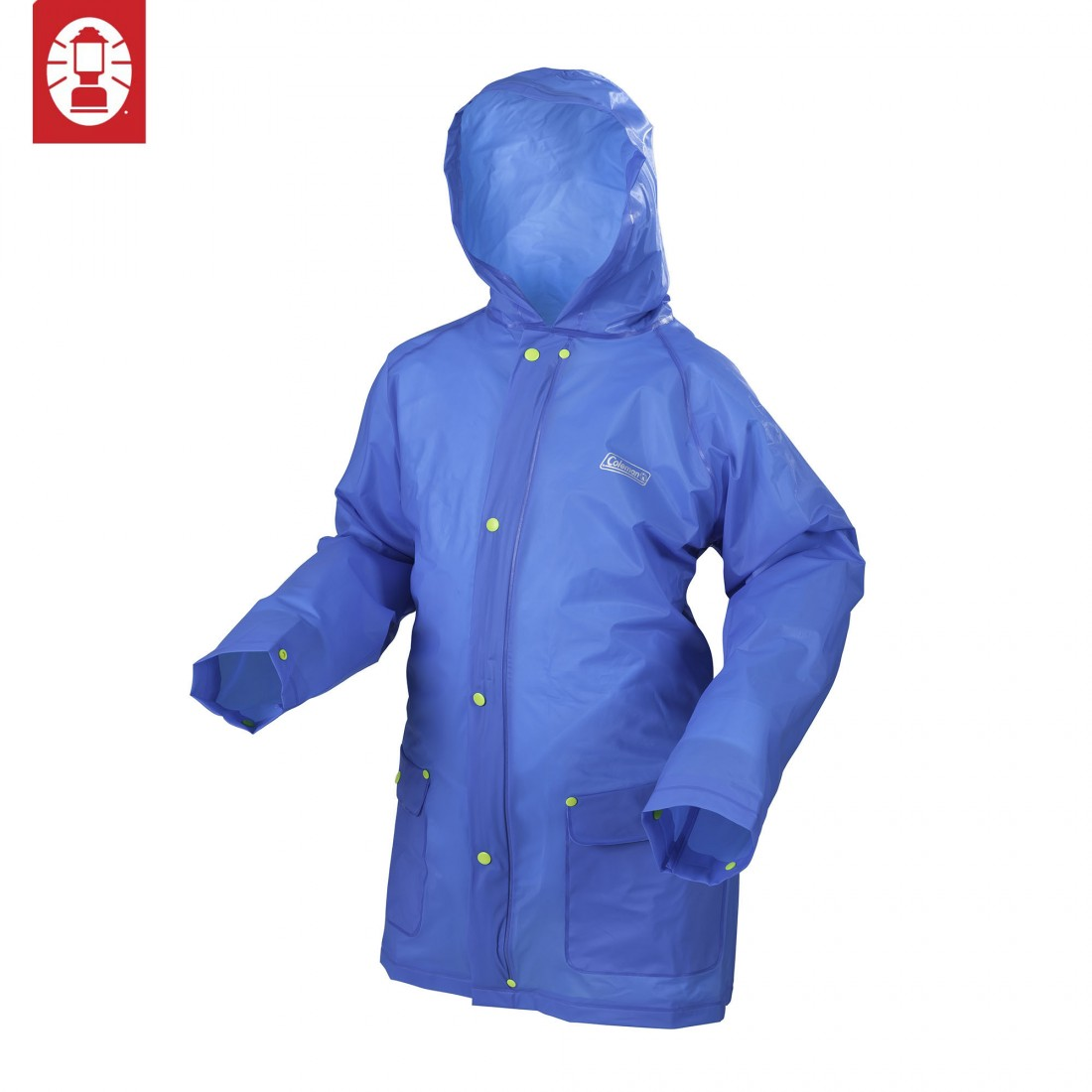 Coleman Youth Eva Rain Jacket (L/XL) - Blue