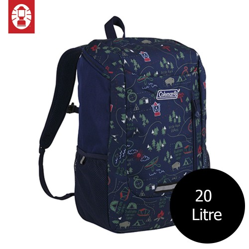 COLEMAN SCHOOL PACK BAG BACKPACK - CAMPMAP