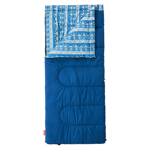 Coleman 5°C Camping Sleeping Bag Cozy/C5 Sleeping Bag (Navy)