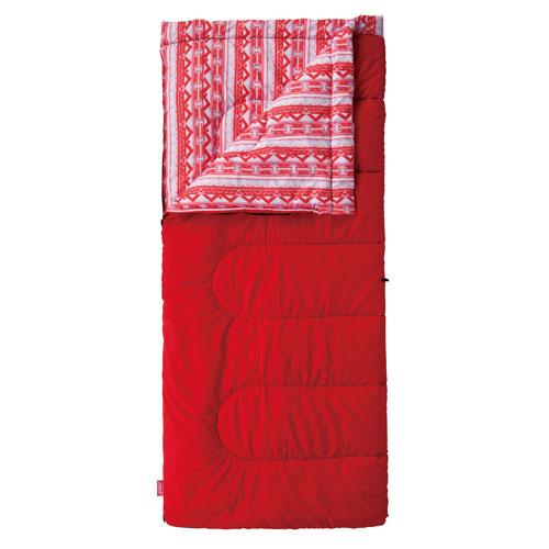 Coleman 5°C Camping Sleeping Bag Cozy/C5 Sleeping Bag (Red)
