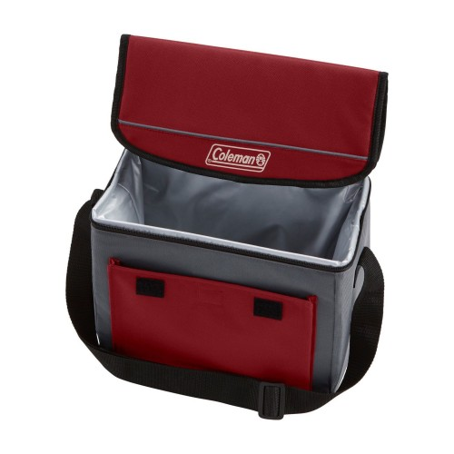 Coleman Cooler Soft 18 Can Collapse Mahogany