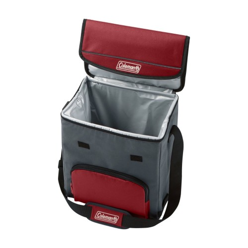 Coleman Cooler Soft 34 Can Collapse Mahogany