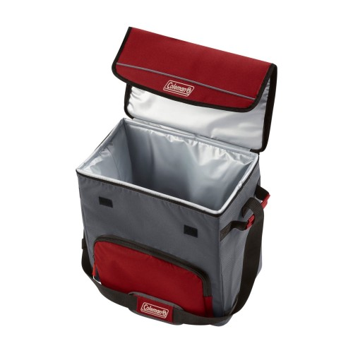 Coleman Cooler Soft 54 Can Collapse Mahogany