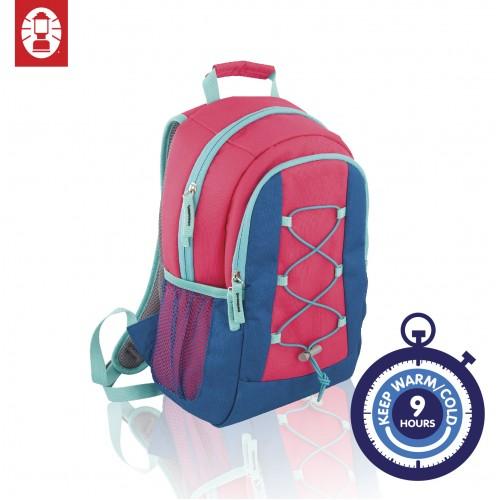 Coleman Cool Bag 10 Cooler Backpack - Pink