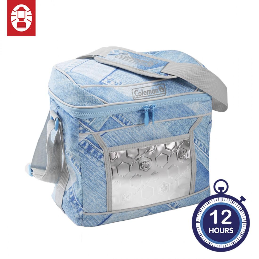 Coleman 12 Hours Denim Soft Cooler - 16 Cans