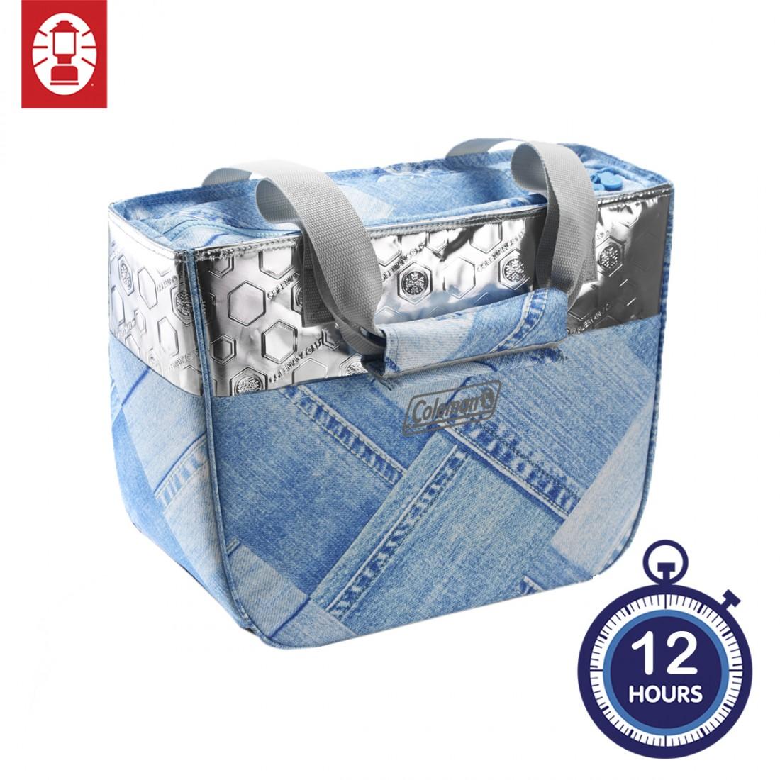 Coleman 12 Hours Denim Soft Cooler - 18 Litre