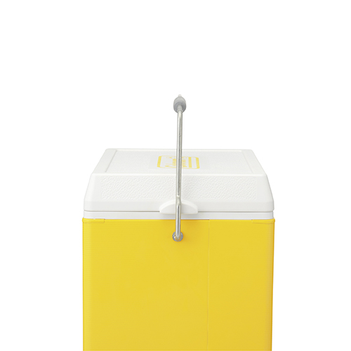 Coleman 28QT Retro Steel Cooler (Yellow)