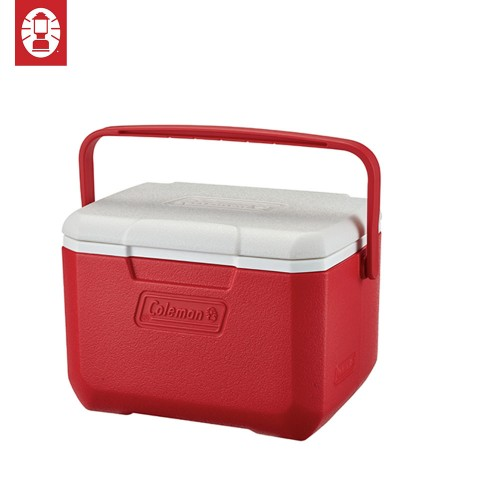 COLEMAN PERFORMANCE COOLER BOX TAKE 6 - 5QT RED