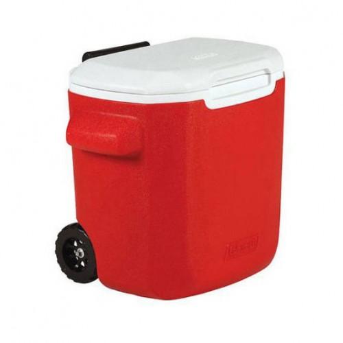 Coleman 16QT Wheeled Cooler - Red