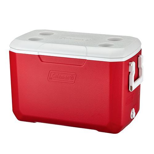 COLEMAN  48QT COOLER BOX RED ASIA