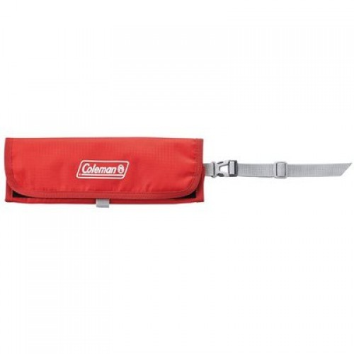 COLEMAN FOLDING MAP CASE (RED)
